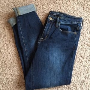 Mossimo High Rise Skinny Jeans Size 4